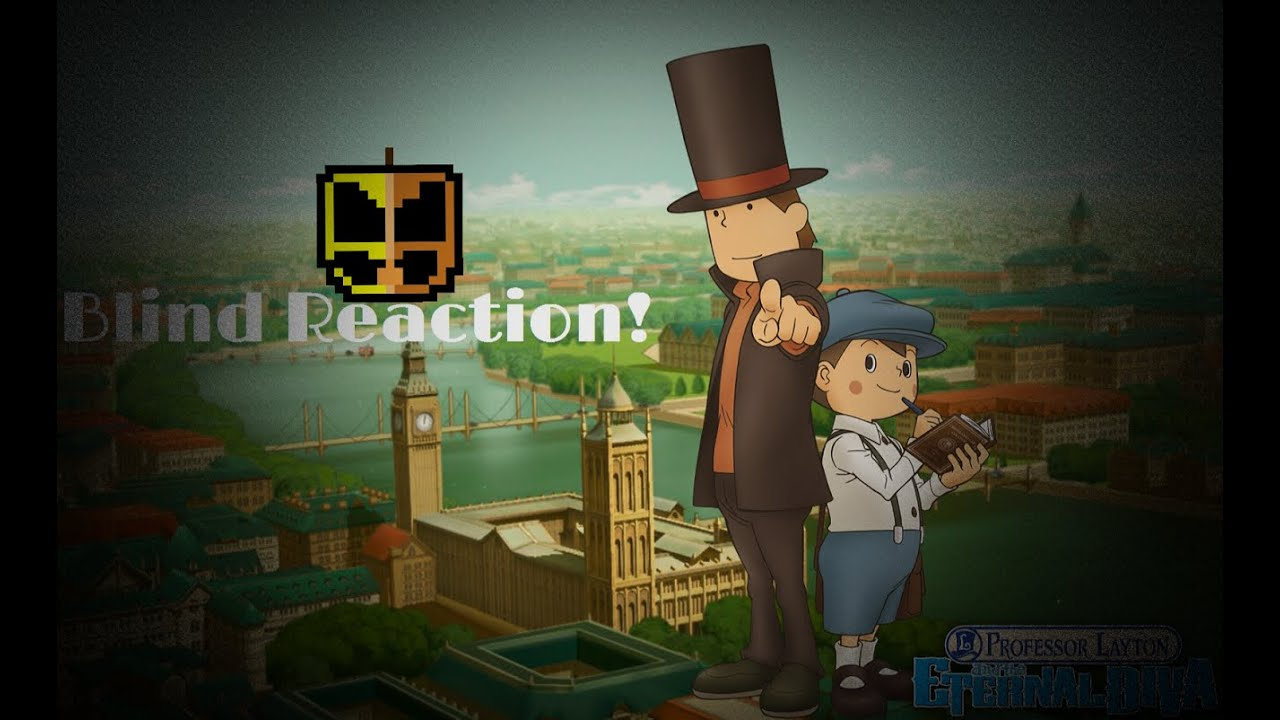 Video Game Movie Month Professor Layton And The Eternal Diva