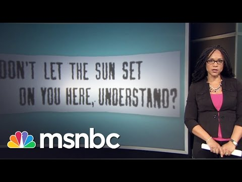 """The History Of """"Sundown Towns"""" 