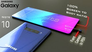 Samsung Galaxy Note 10 with S-Pen Camera,Triple Back Camera Introduction Concept (iPhone killer)