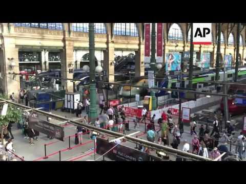 Fire causes disruption at Paris Eurostar