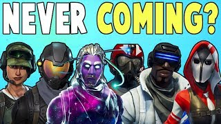 Why Are These Heroes NOT In Save The World? C'mon Epic Games! | Fortnite Save The World