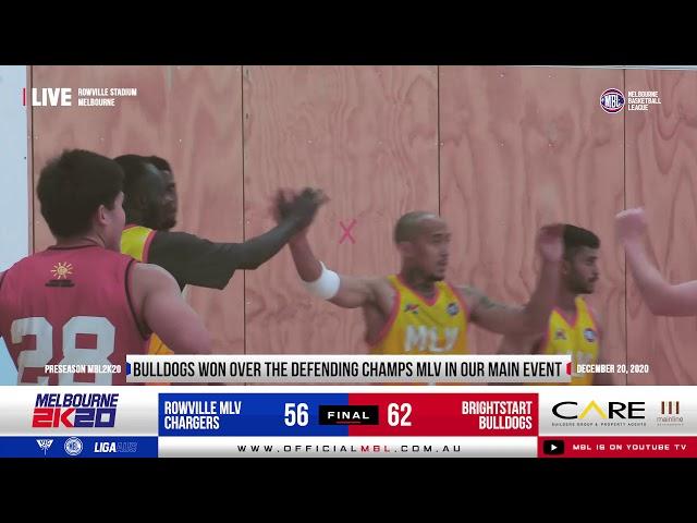MBL 2K20 Preseason: Bulldogs VS Chargers