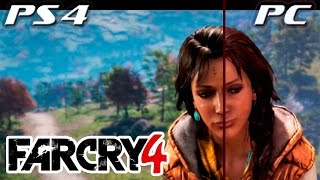 Far Cry 4: PS4 vs PC Ultra сравнение графики ► Far Cry 4 Gameplay