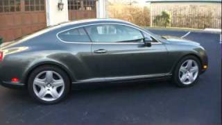 2006 Bentley Continental GT For Sale~552HP Twin Turbo V12~Fantastic Automobile