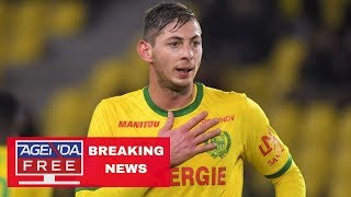 Plane Carrying Soccer Star Sala Disappears - LIVE BREAKING NEWS COVERAGE