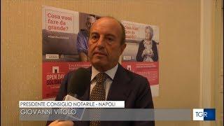 12/09/2019 - TGR Campania (RAI3) - Testamento Solidale, porte aperte nei Consigli Notarili