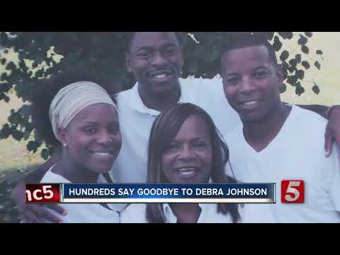 Family, friends remember Debra Johnson at funeral