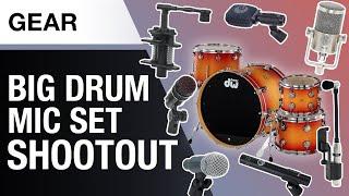 Huge Drum Mic Set Shootout | Drum Recording | Thomann