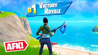 I Got An *AFK* Player a Victory Royale!