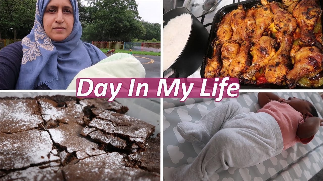 Download Day In My Life | Baby's Name, Baking Brownies and Chicken & Veg Bake | Vlog | Shamsa