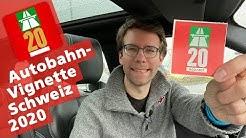 Schweizer Autobahn-Vignette 2020 | Petrolhead.ch
