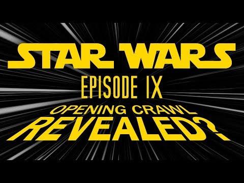 Star Wars Episode IX Opening Crawl Revealed?! (Nerdist Presents)