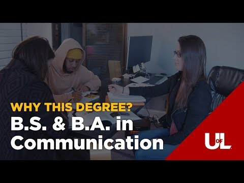 Online Bachelor's in Communication at the University of Louisville