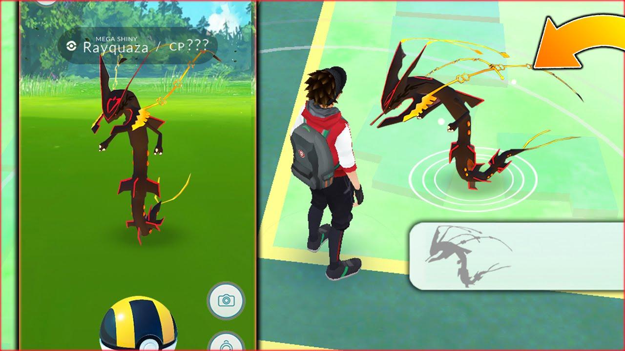 catching new legendary rayquaza pokemon?! pokemon go new legendary
