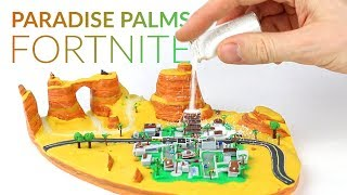 Paradise Palms & Snow Powder (Fortnite Battle Royale) - Polymer Clay Tutorial