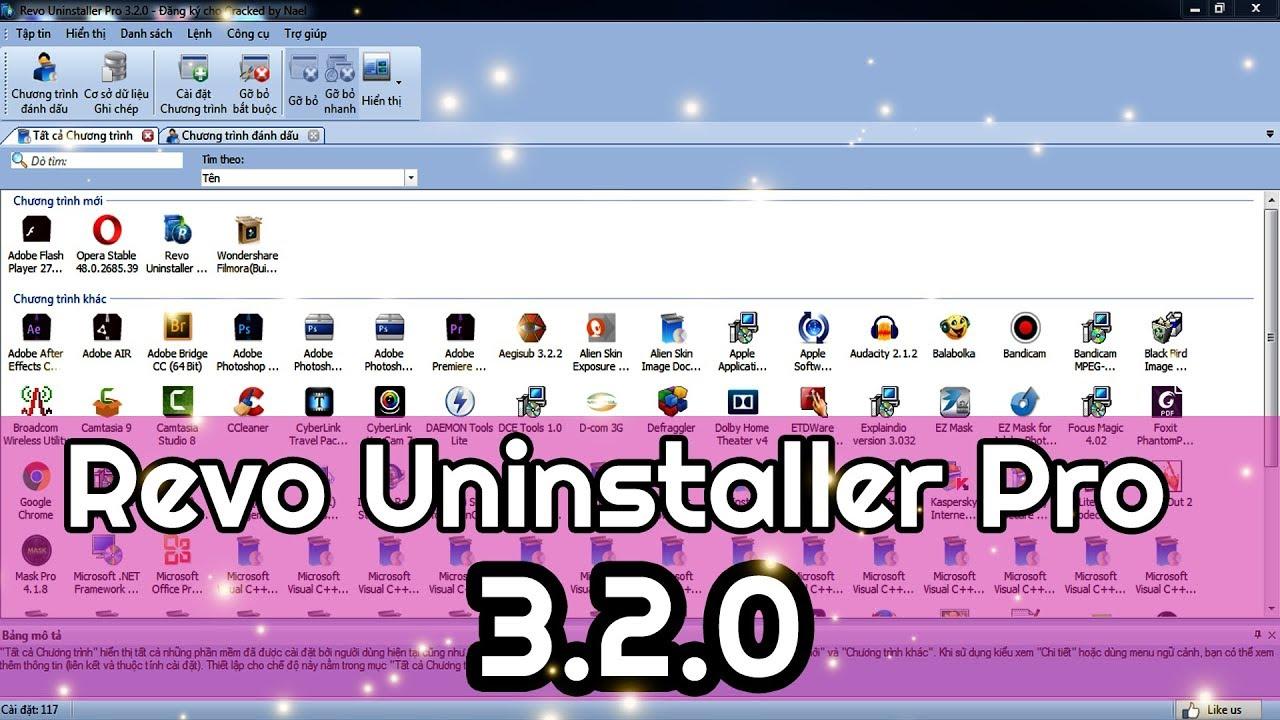 Revo Uninstaller Pro 3.2.0 – Phần Mềm Gỡ Bỏ Những Ứng Dụng Cứng Đầu