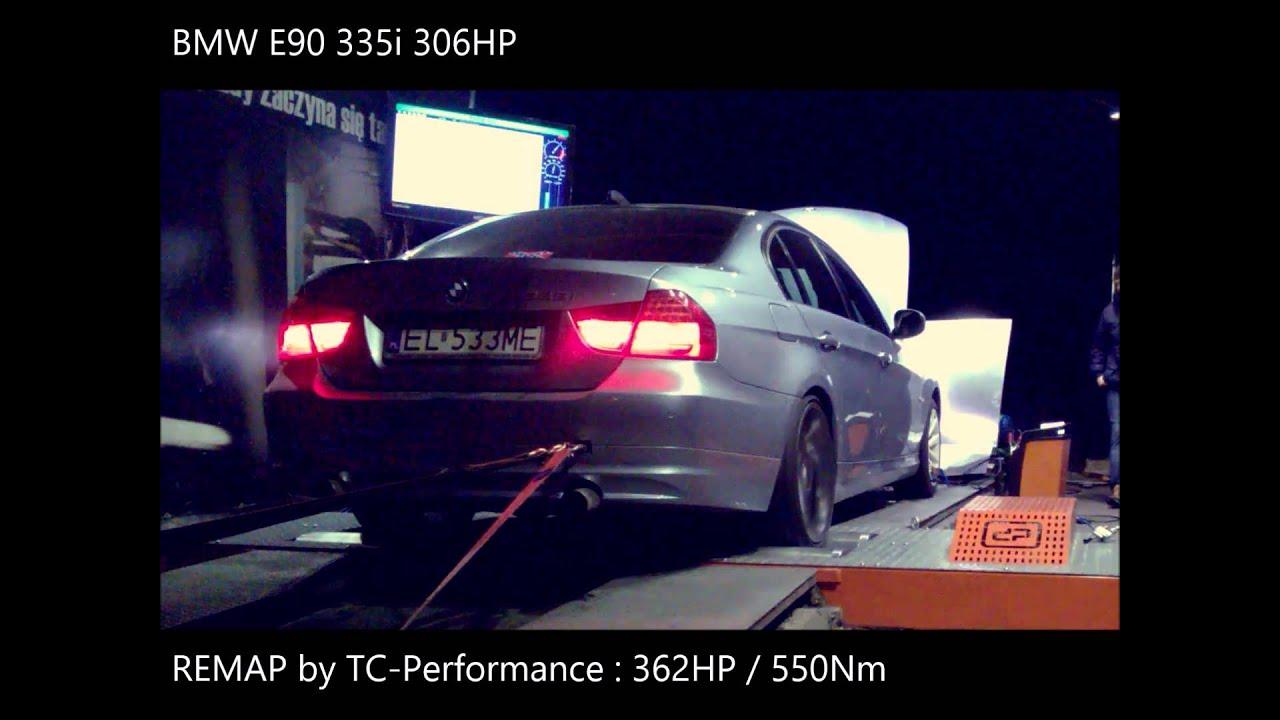 Chiptuning Łódź - BMW E90 335i remap - Hamownia - Dyno