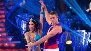 Ashley Taylor Dawson & Ola dance the Rumba to