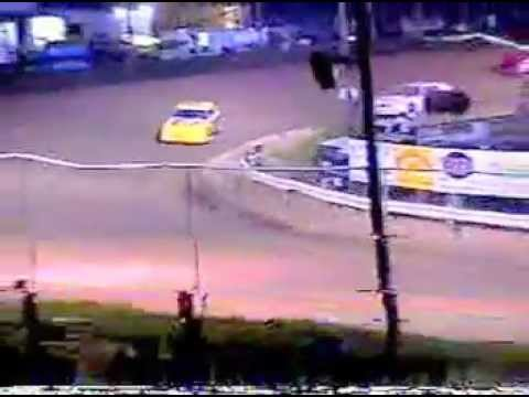 Devin Irvin Wins Street Stock Race at Adrian Speedway.