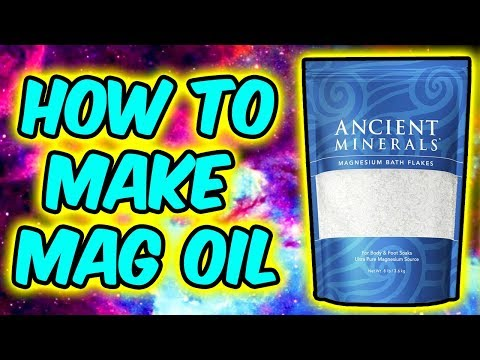How To Magnesium Oil At Home - Cheap DIY Magnesium Supplement!