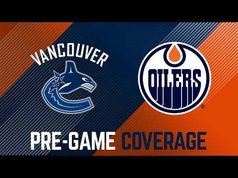 ARCHIVE | Oilers Pre-Game Interviews vs. Vancouver