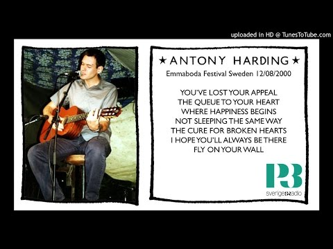 Antony Harding - live P3 Radio Emmaboda Festival 12th August 2000 ANT / Hefner
