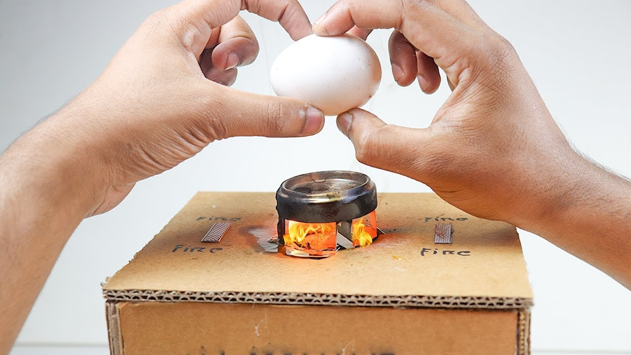 How to make a Mini Toy Oven at Home - Miniature Kitchen Stove that works  DIY Toy Microwave Oven