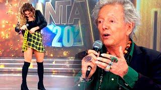 Pepe Cibrián le criticó la pollera a Adabel Guerrero y ella decidió sacársela en vivo