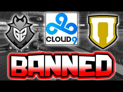 5 PROS BANNED FOR 1 YEAR!! ( New Cheat in Rocket League )