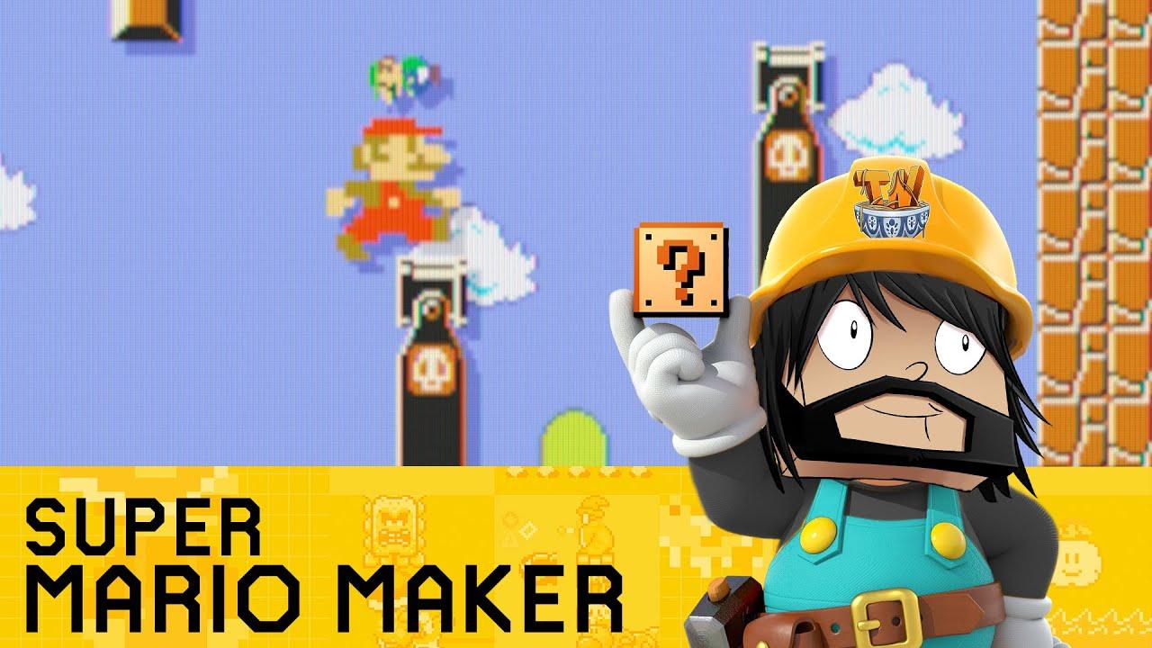 Super Mario Maker - The High Castle!
