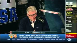 "Mike Francesa - ""When you fell asleep on air, you called people names!"""