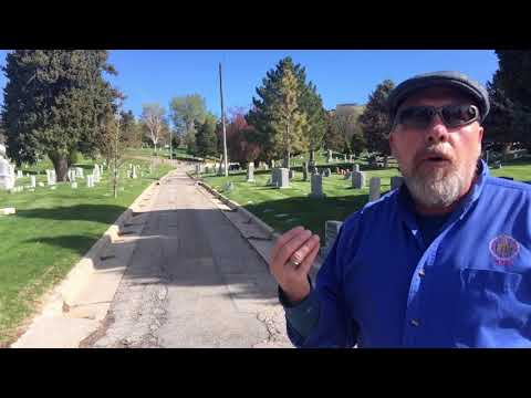 Salt Lake City Cemetery tour