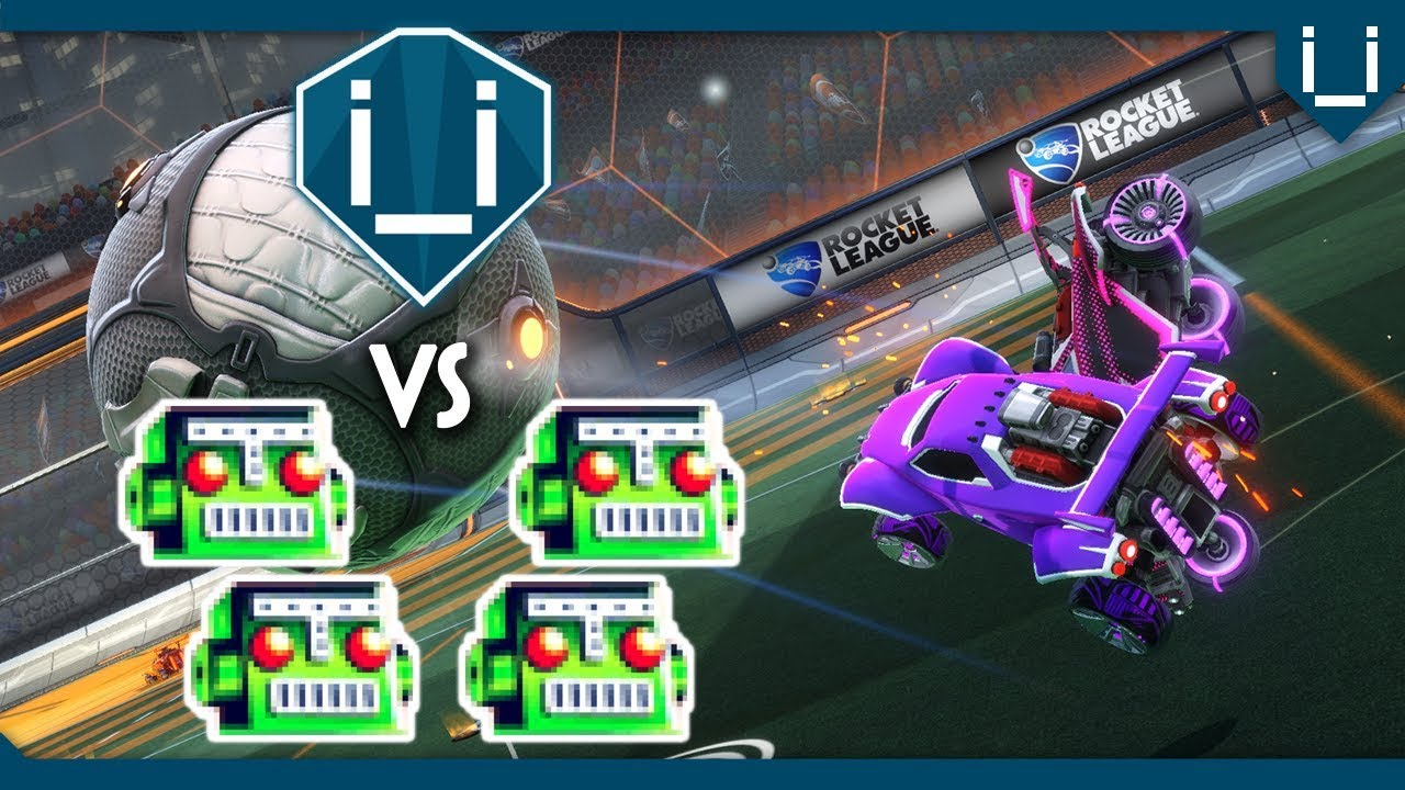 Beginners: How to Warm Up with Bots in Rocket League - GamersRdy