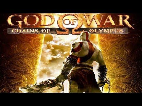 God of War: Chains of Olympus All Cutscenes (Game Movie) HD