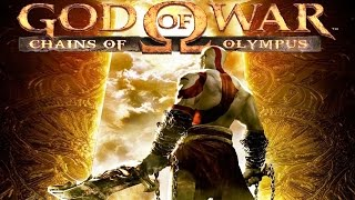 God of War: Chains of Olympus All Cutscenes (Game Movie) HD