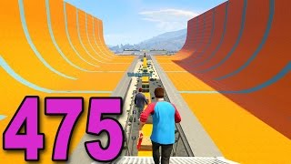 Grand Theft Auto 5 Multiplayer - Part 475 - MEGA HALF PIPE!