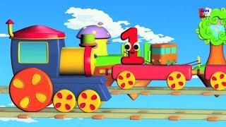 bob kereta nomor petualangan pelajari nomor 1-10 nomor untuk anak-anak Bob Train Numbers Adventure