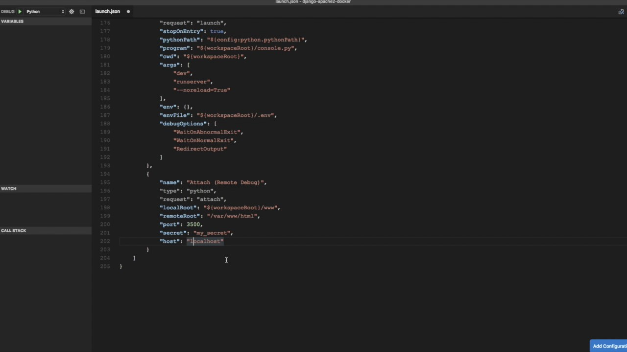 Remote Debugging Django Apps in Docker