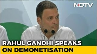 Notes Ban An Assault, Not Mistake, Says Rahul Gandhi, Targeting PM