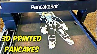 3D Printing Pancakes - Pancake Bot