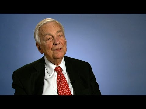 John C. Whitehead, Former Goldman Sachs Senior Partner and Co-Chairman: Talks at GS