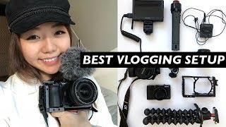 BEST VLOG SETUP 2019: Vlogging Camera Gear For Travel & Food Videos