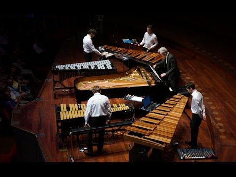 Canto Ostinato for 1 piano 2 vibraphones and 2 marimbas 23 July 2016