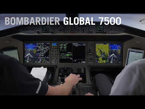 The Bombardier Global 7500 Needs Hardly Any Runway to Take Off (Cockpit View) – AINtv Express