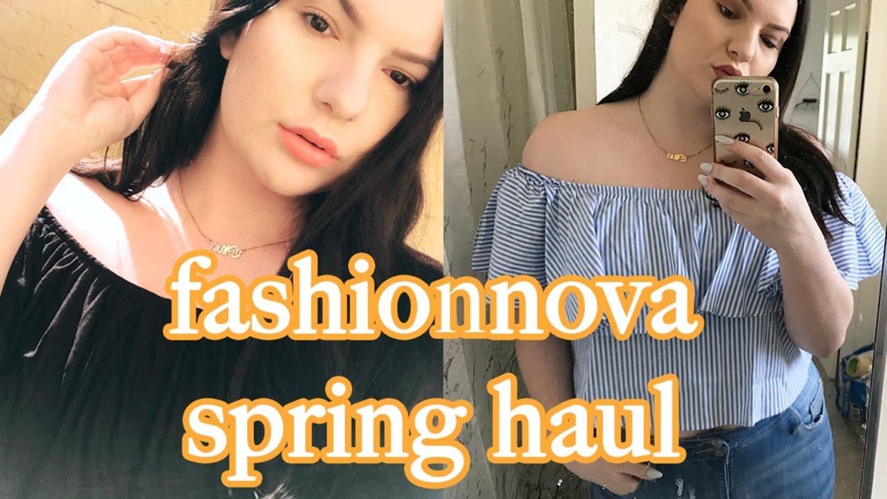 1c75e0ce20f FashionNova Spring Plus Size Try On Haul