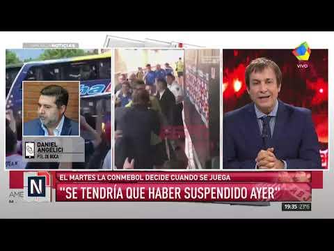 """Angelici con #AmericaNoticias: """"Por un hecho similar nos descalificaron"""""""