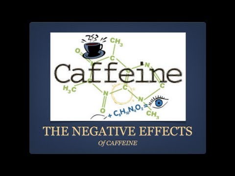 an introduction to the negative effects of caffeine All about caffeine clarifying the  introduction • there is an  conclusive evidence that moderate caffeine intake has adverse effects on pregnancy or.