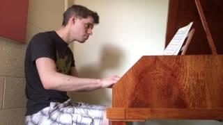 Mozart A Minor Sonata on Authentic Forte Piano Jonathan Bobal Piano Teacher Towson Maryland