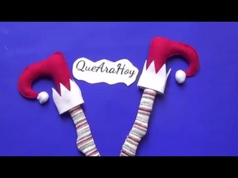 Piernas de duende youtube - Sobre de navidad para imprimir ...