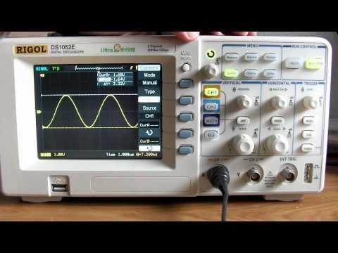 Funciones Rigol DS1052E